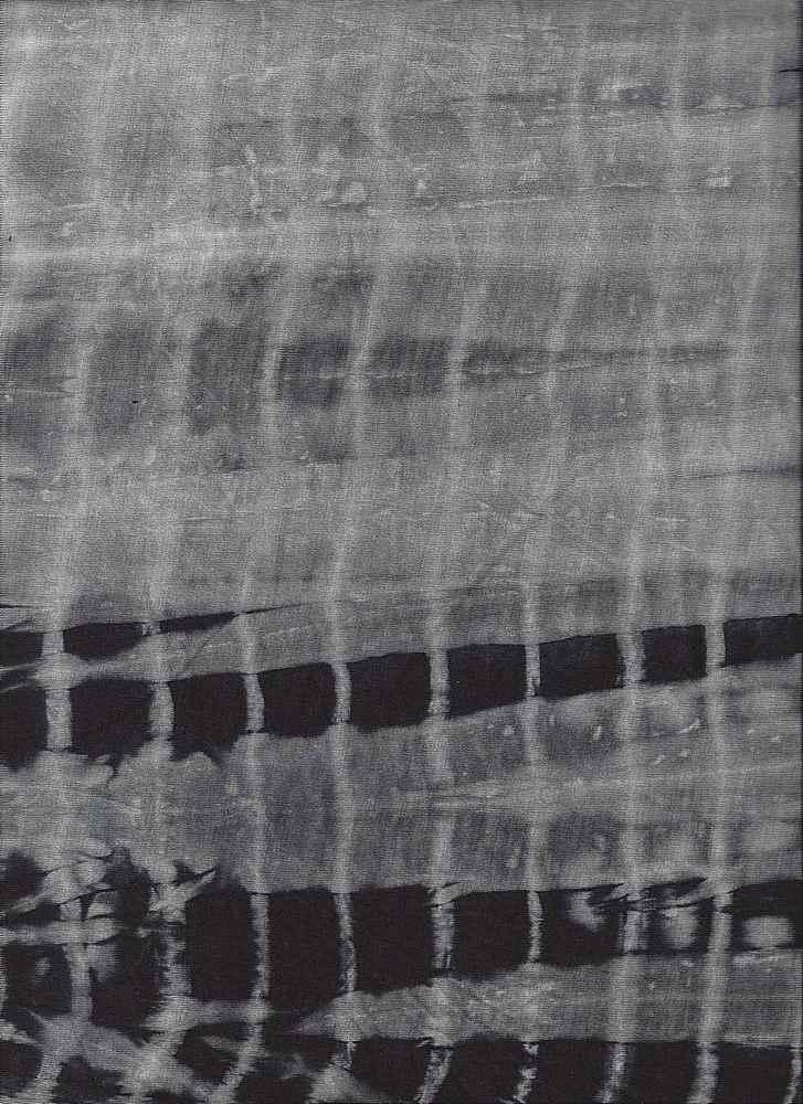2350-30 / BLACK / 95%Viscose 5%Spandex Knit Tie Dye Print