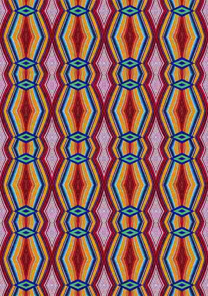 FIE-CW-5224-35 / CALIENTE / 100% Rayon Challis Print