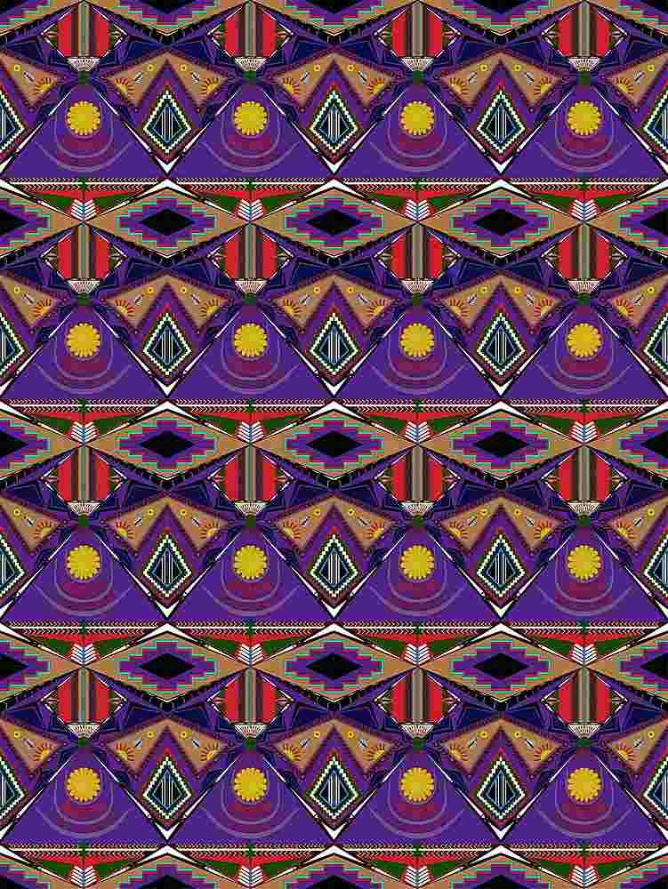 FIE-CW-5223-35 / SUNSET / 100% Rayon Challis Print