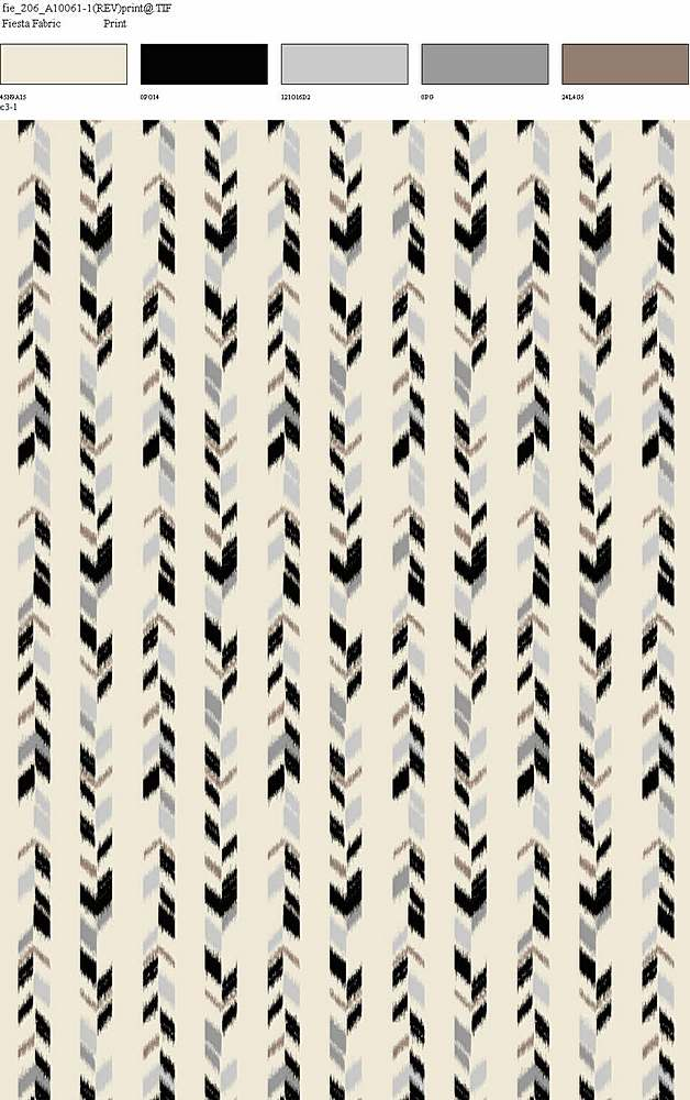206-A10061-64 / BLACK / 100% Rayon Gauze Print