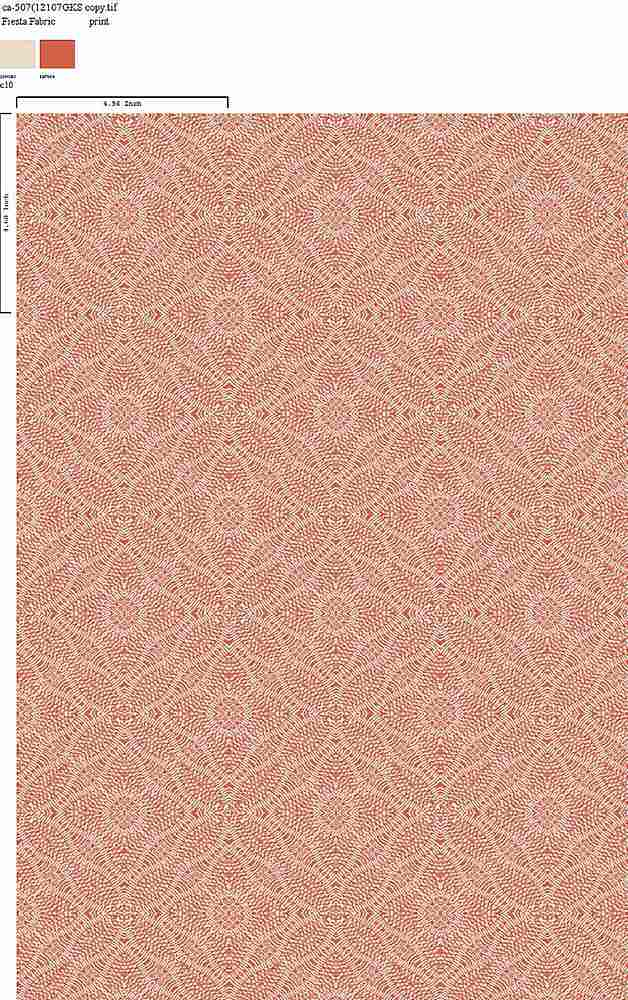 CA-507-64 / C10 / 100% Rayon Gauze Print