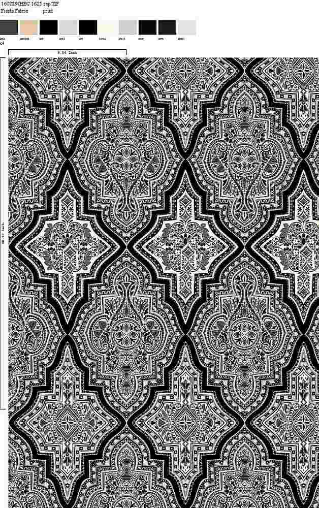 160229-35 / C4 / 100% Rayon Challis Print