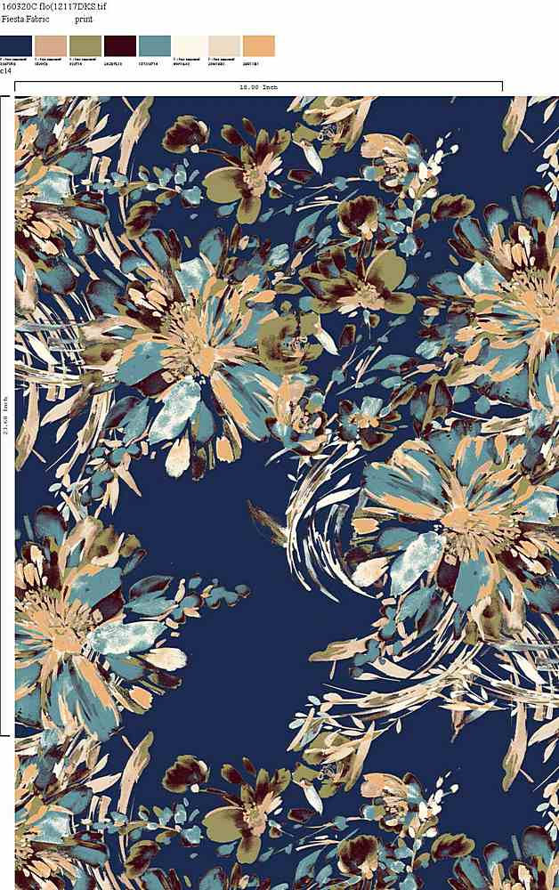 160320-30 / C14 / Rayon Spandex Jersey Print 180gsm