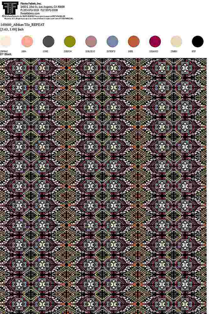 160660-64 / BLACK / 100% Rayon Gauze Print