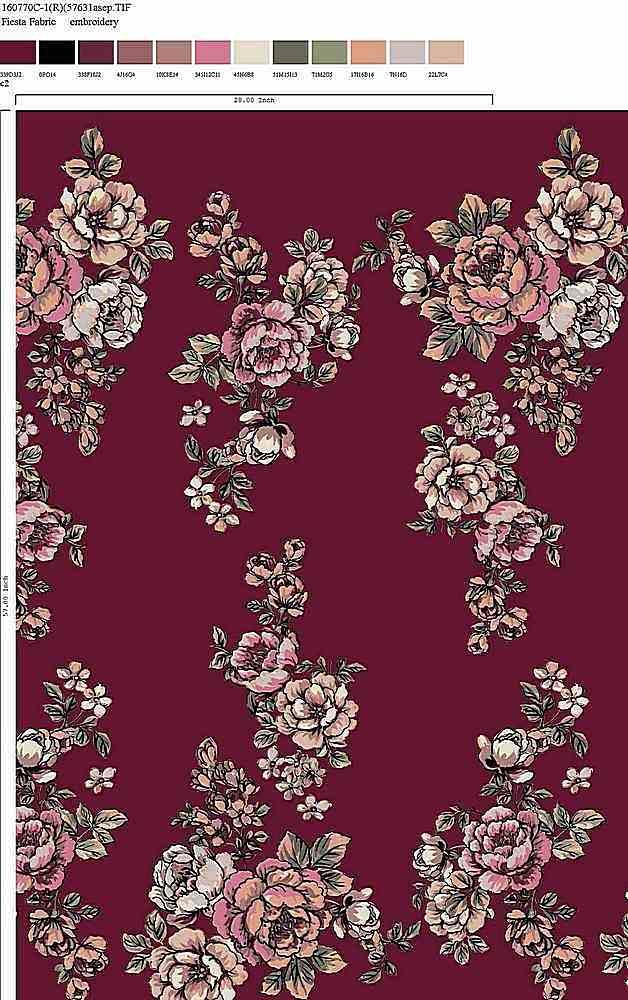 160770-30 / C2 / Rayon Spandex Jersey Print 180gsm