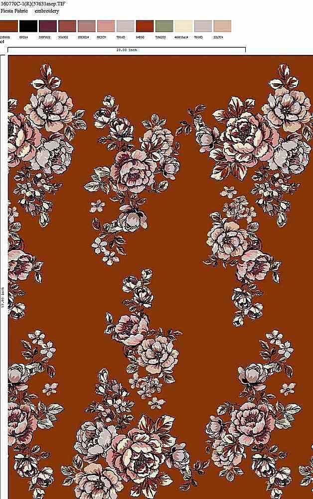 160770-30 / C4 / Rayon Spandex Jersey Print 180gsm