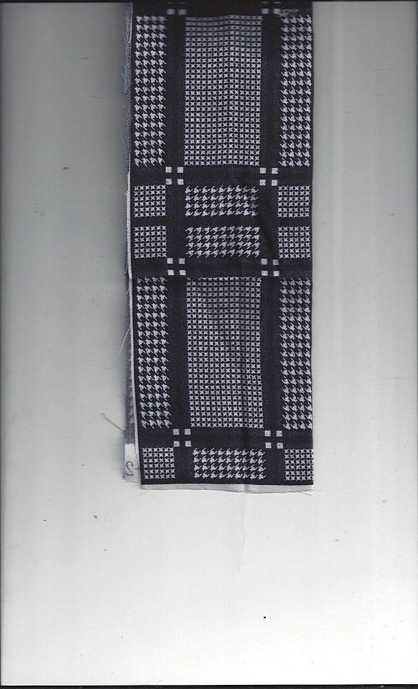 2762-64 / BLK/IVORY / RAYON GAUZE PRINT