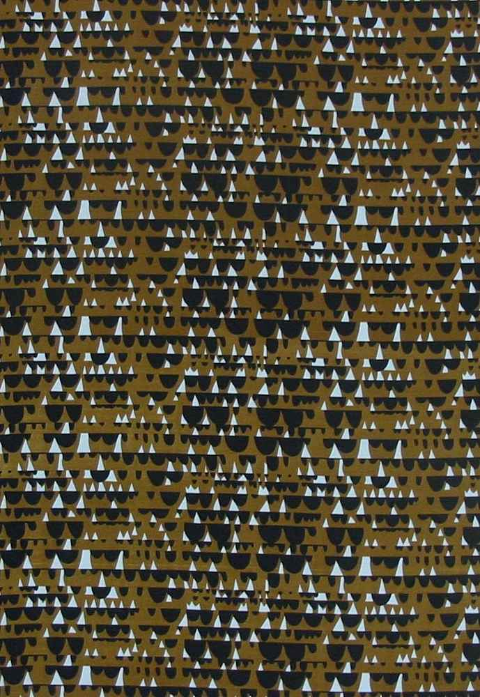 974-26 / BROWN         / 100% Poly CDC Print