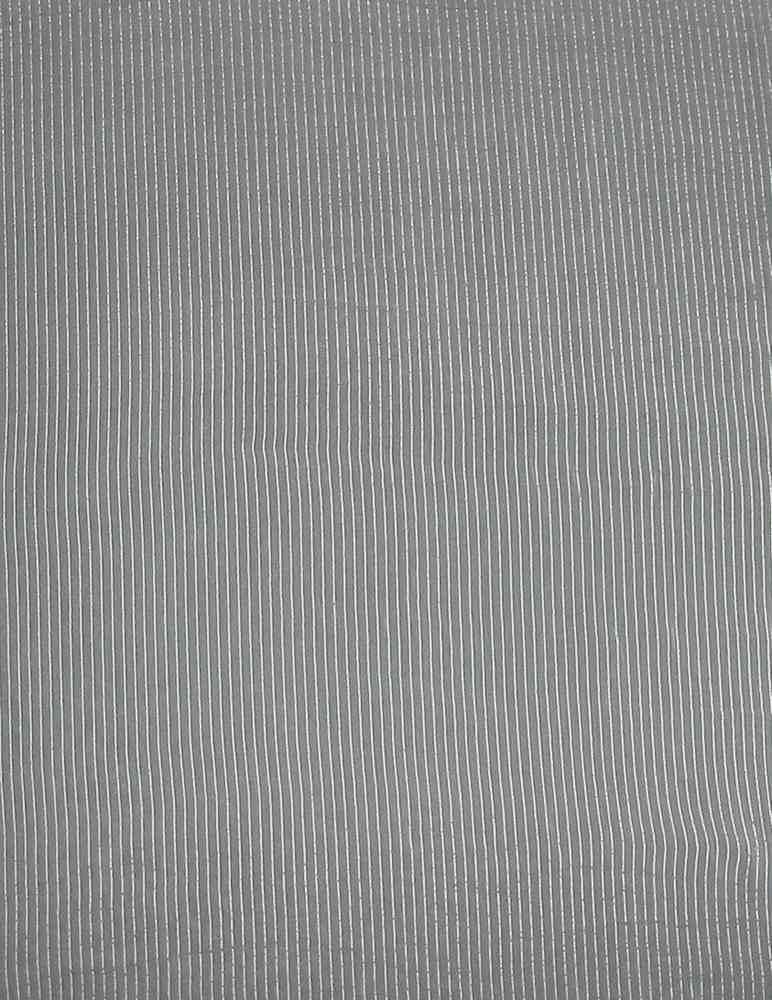 ST0602 / PFD                 / 4  STRIPE SILK CRINKLE CHIFFON 6 M/M
