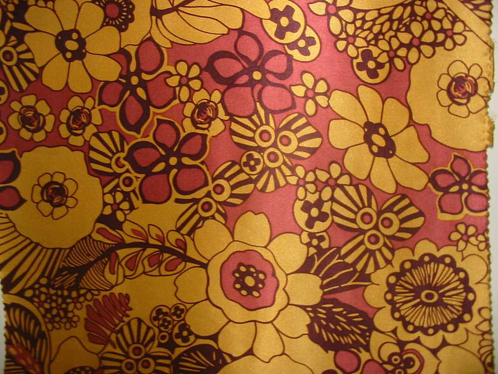 FIE-206-455-1 / #1                 / SILK/COTTON VOILE PRINT 14 M/M