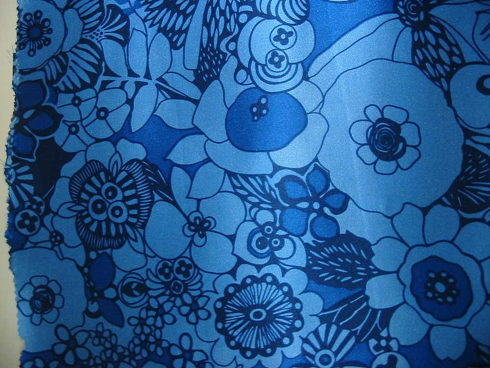 FIE-206-455-1 / #2         / 5 SILK/COTTON VOILE PRINT 14 M/M