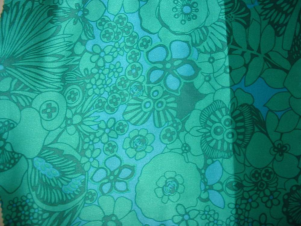 FIE-206-455-1 / #3         / 5 SILK/COTTON VOILE PRINT 14 M/M