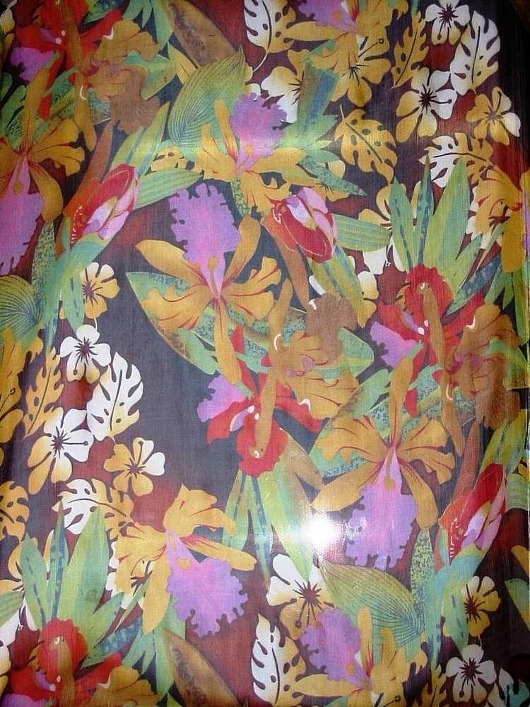 GP446/10152 / YELLOW MULTI                 / SILK CRINKLE CHIFFON PRINT 6 M/M, 100% SILK