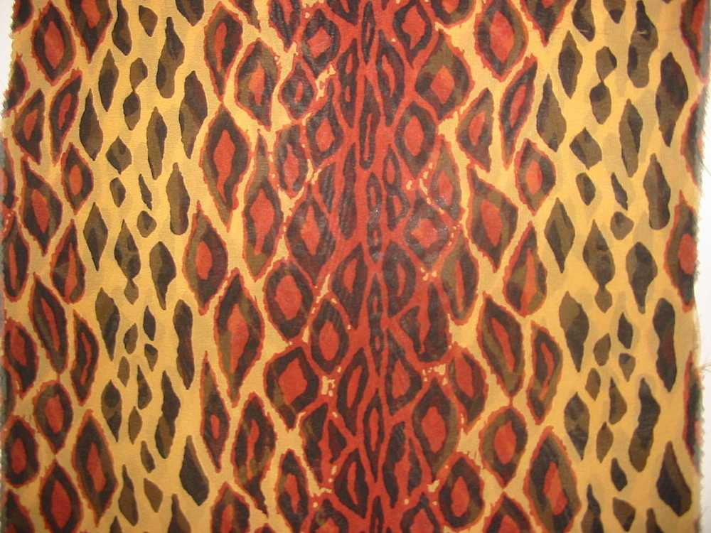 672 / BROWN                 / SILK CHIFFON PRINT 8 M/M, 100% SILK