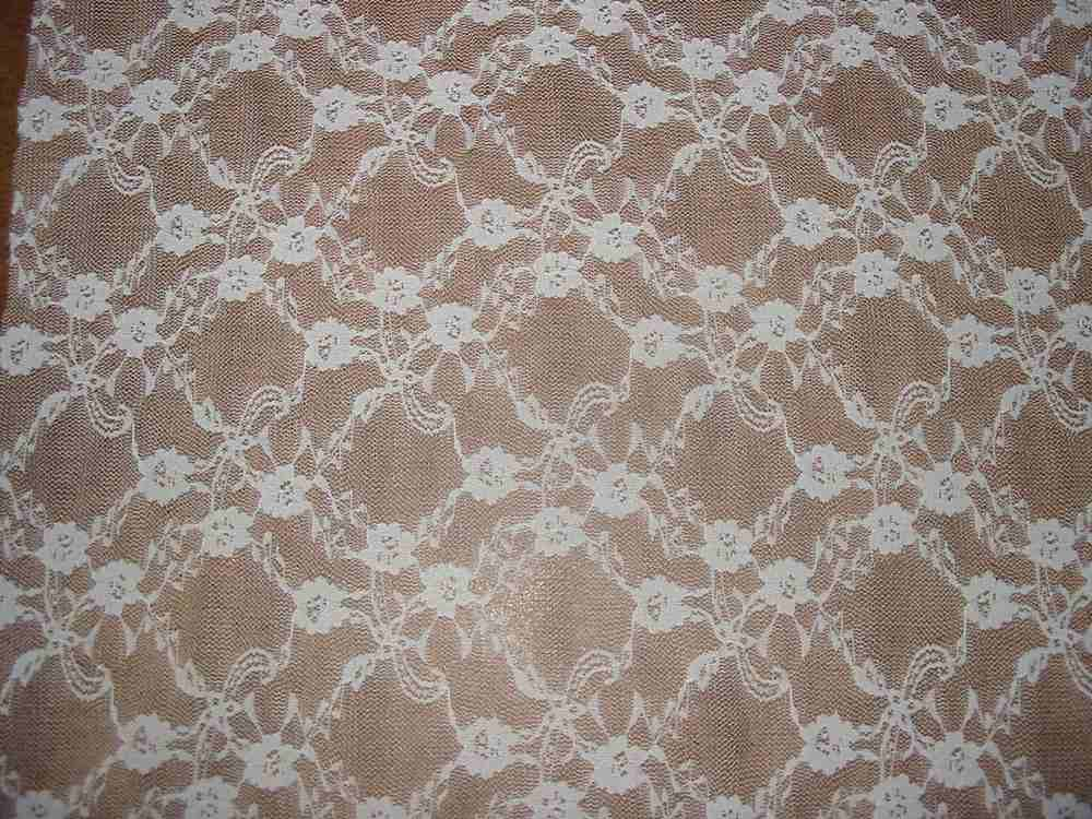 #42038 / PFD                 / STRETCH LACE, 90% NYLON/ 10% SPANDEX