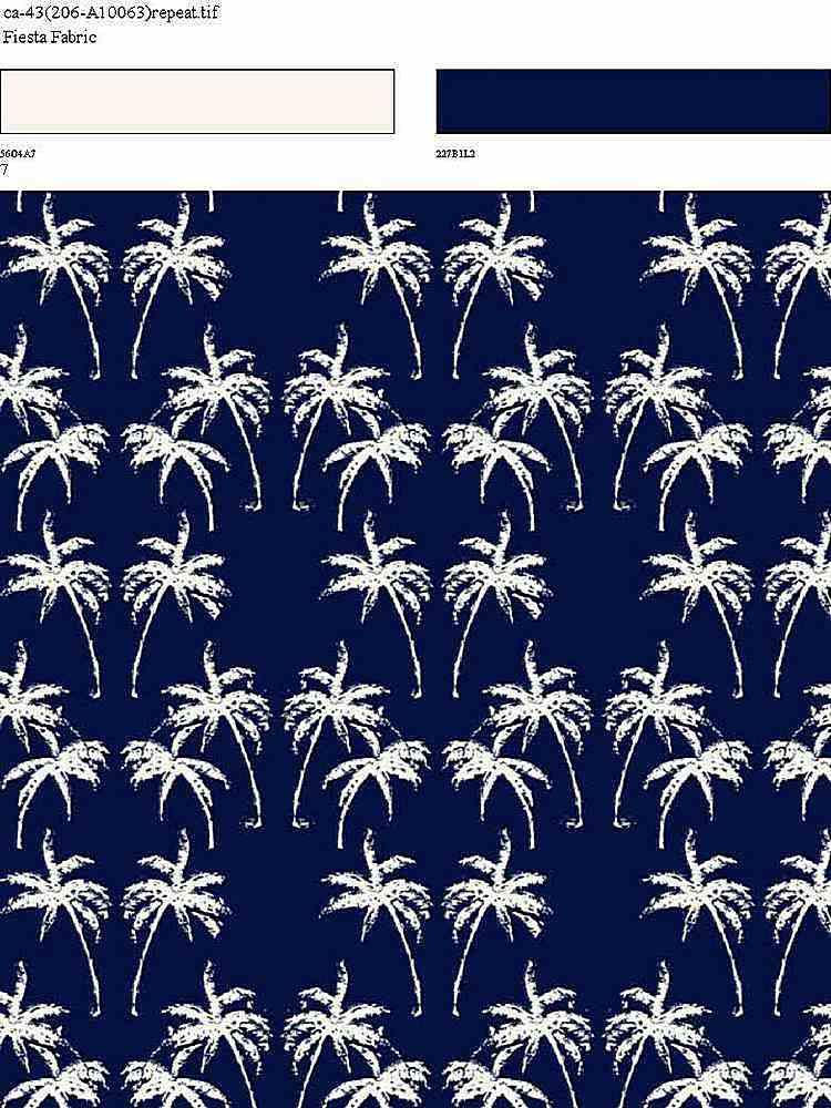 CA-043-35 / NAVY         / 100% Rayon Challis Print