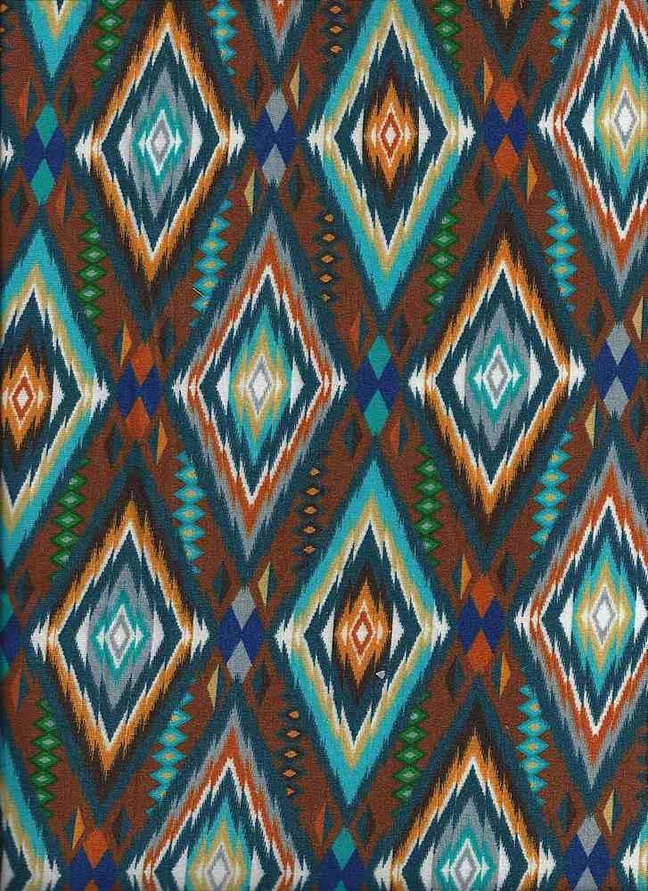 2133-30 / DENIM         / Rayon Spandex Jersey Print