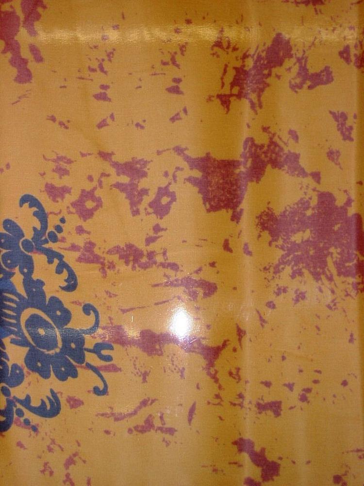 SO1513 / ORANGE         / 100% Silk Habotai Print 8 M/M