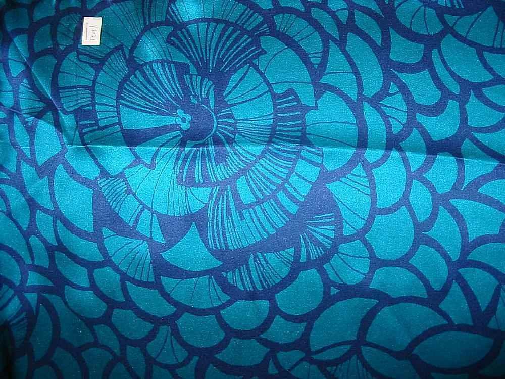 FIE-206-458-30 / TEAL                 / Rayon Spandex Jersey Print 200gsm