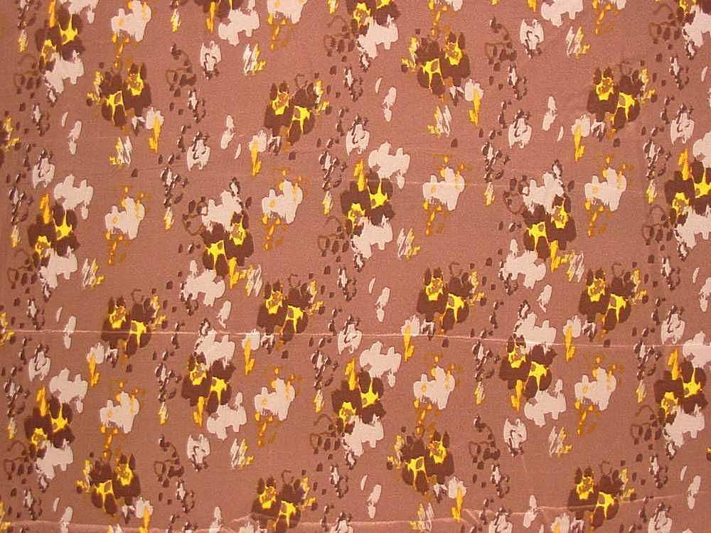FIE-206-800-30 / BROWN         / Rayon Spandex Jersey Print 200gsm