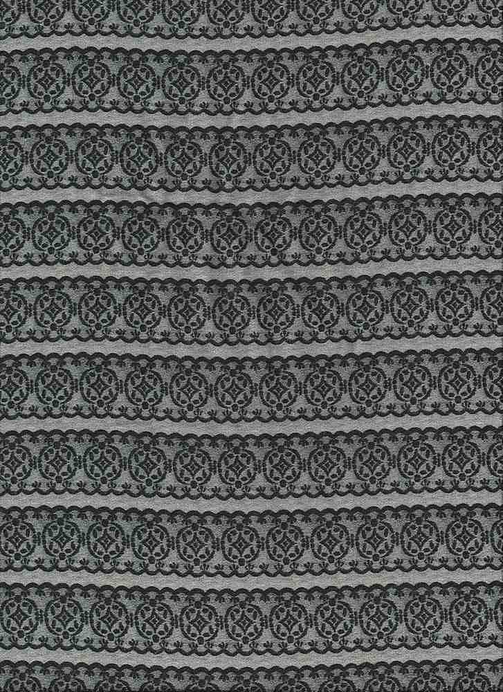 2330-64 / PFD/BLACK         / 100% RAYON GAUZE PRINT