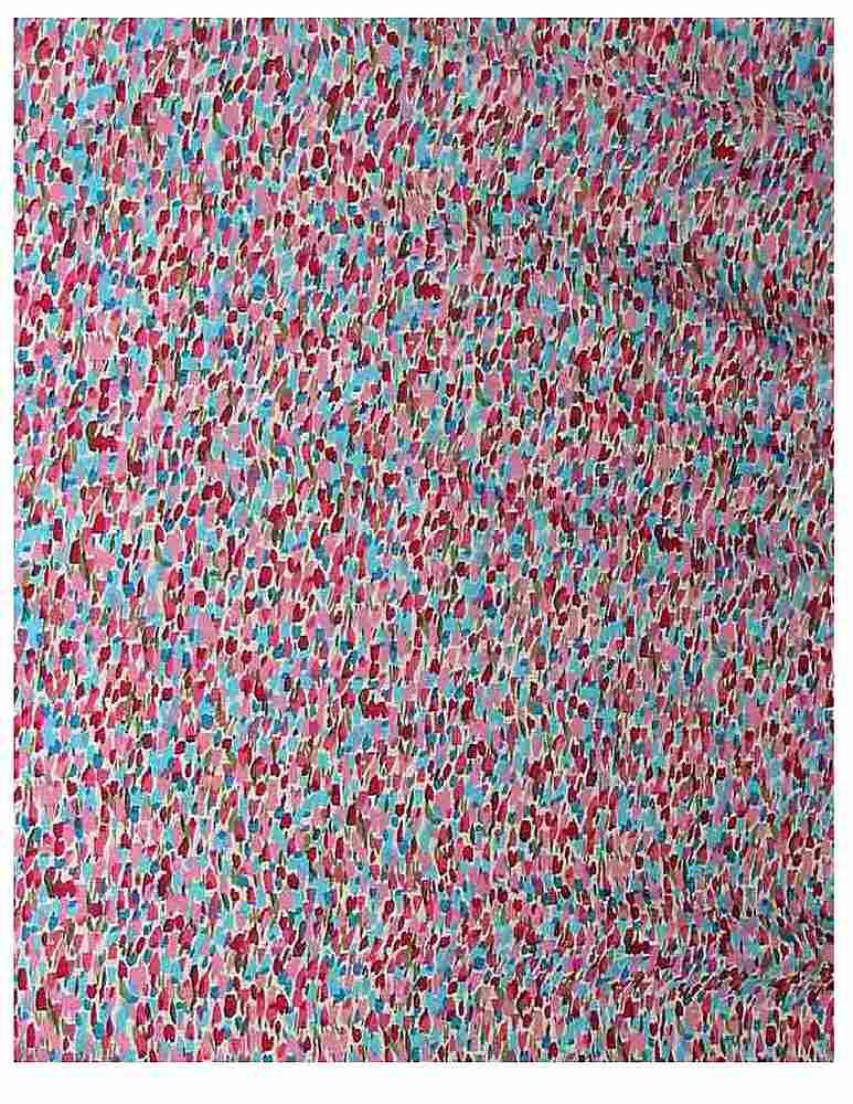 FIE-206-680R-35 / CERULEAN            / Rayon Challis Print