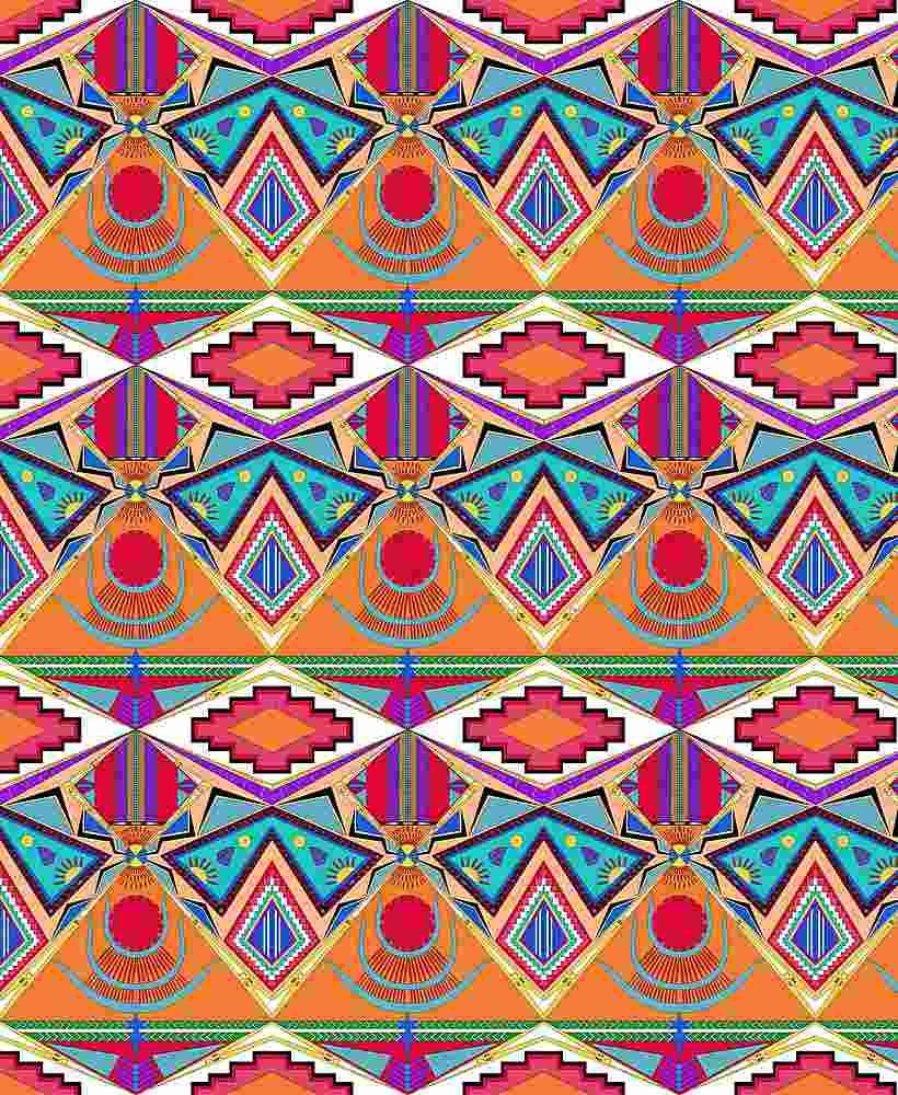 FIE-CW-5223-35 / ARIZONA             / 100% Rayon Challis Print