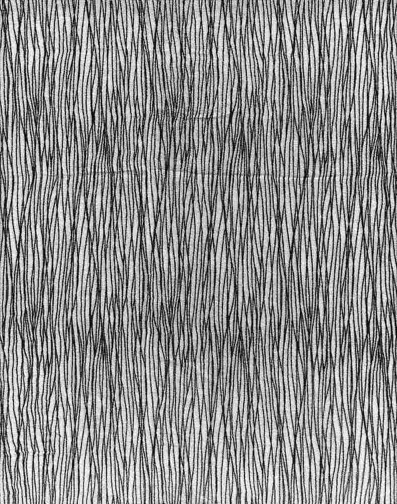 2426-64 / PFD/BLACK         / 100% Rayon Gauze Print