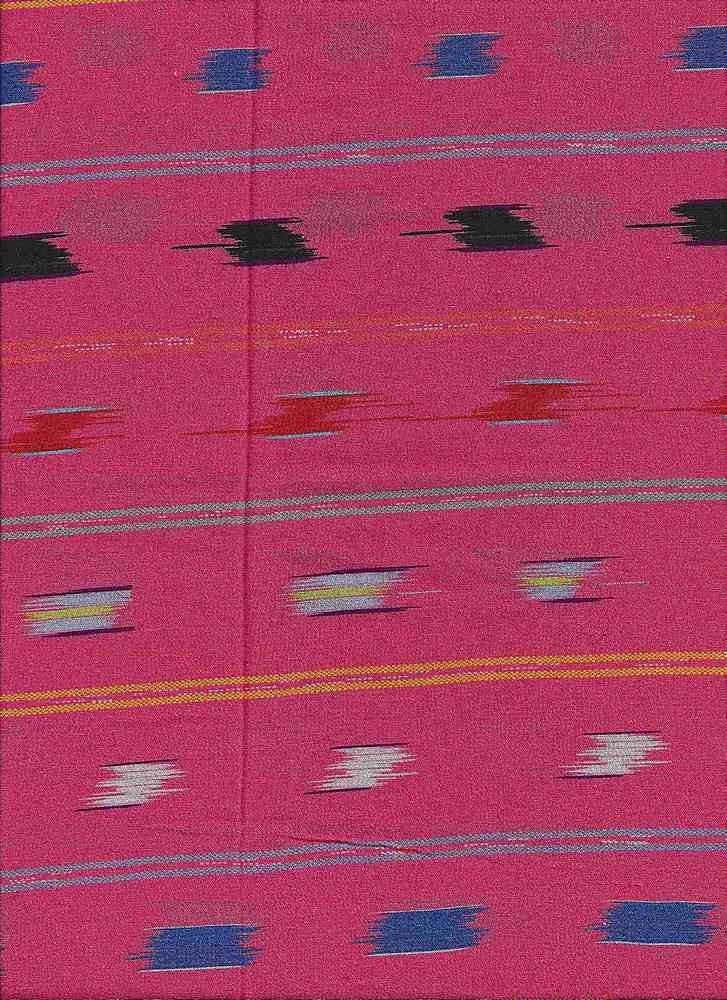 2486-64 / RUST         / 100% Rayon Gauze Print