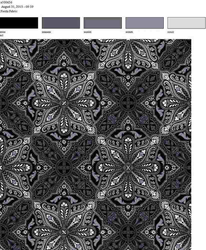 206-A100656-64 / CHARCOAL         / 100% Rayon Gauze Print