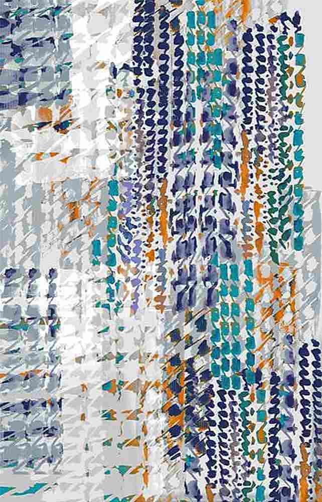 FIE-206-937-30 / BLUE                 / Rayon Spandex Jersey Print 180gsm