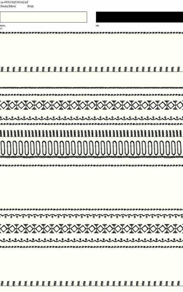CA-439-64 / WHITE/BLACK         / 100% Rayon Gauze Print