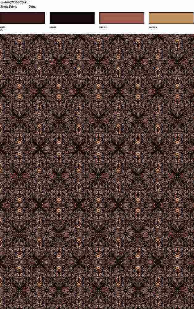 CA-446-30 / MAROON         / Rayon Spandex Jersey Print 180gsm