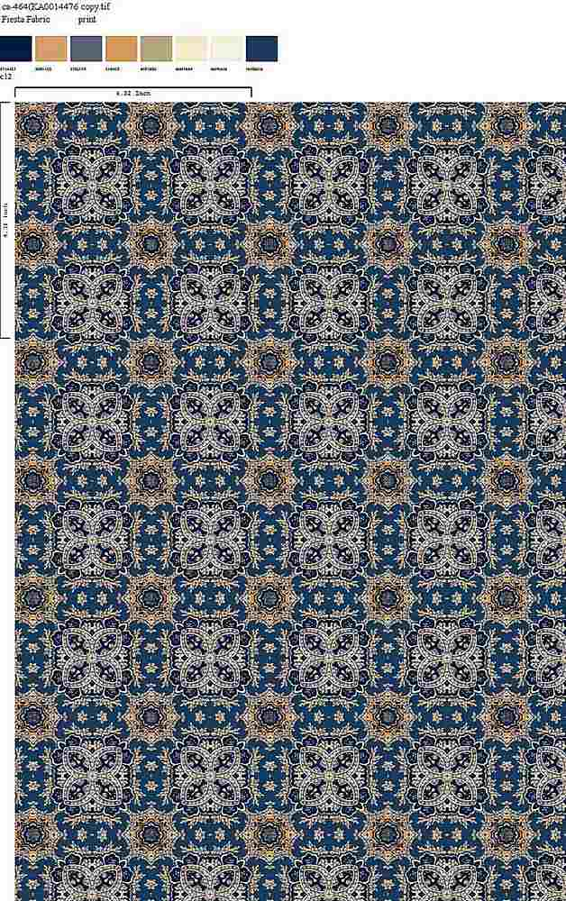 CA-464-64 / C12         / 100% Rayon Gauze Print