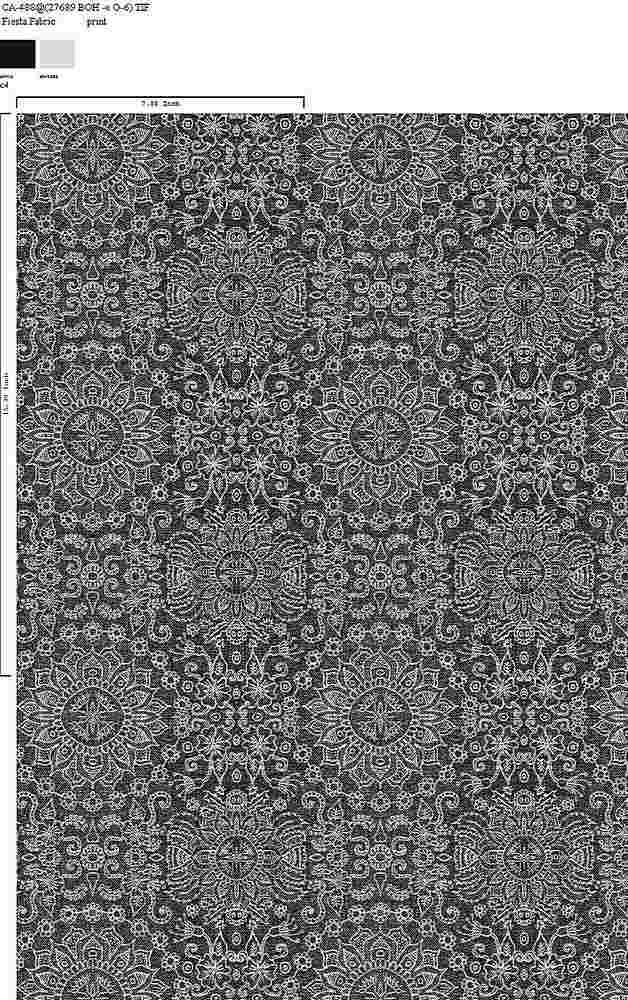 CA-488-64 / C4         / 100% Rayon Gauze Print
