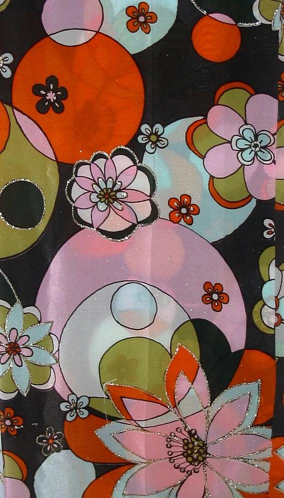 FIE-206-410 / ORANGE                 / 5  SILK CDC PRINT 12 M/M