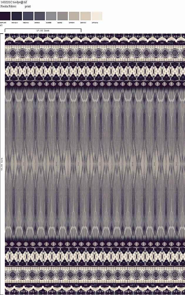 160220-35 / C1         / 100% Rayon Challis Print