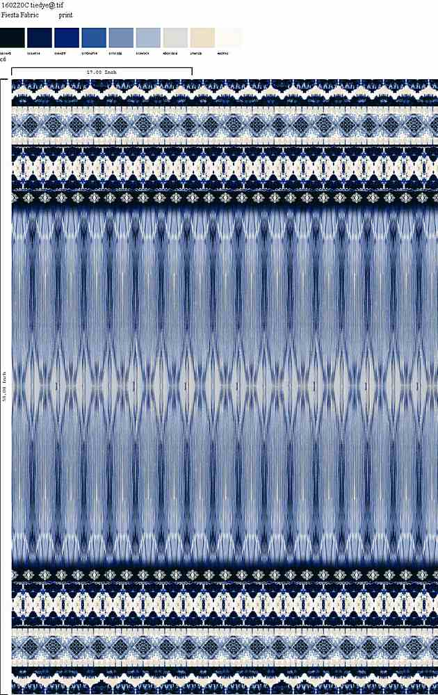 160220-35 / C6         / 100% Rayon Challis Print