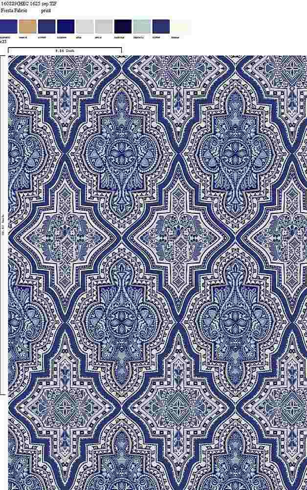 160229-35 / C23 / 100% Rayon Challis Print