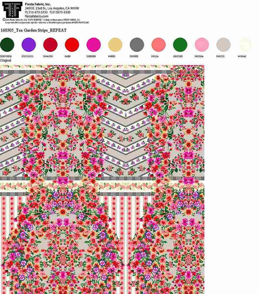 160305-30 / ORIGINAL                 / Rayon Spandex Jersey Print 180gsm