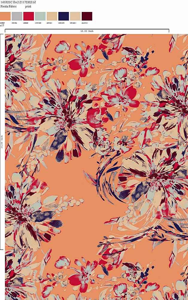 160320-30 / C17                 / Rayon Spandex Jersey Print 180gsm