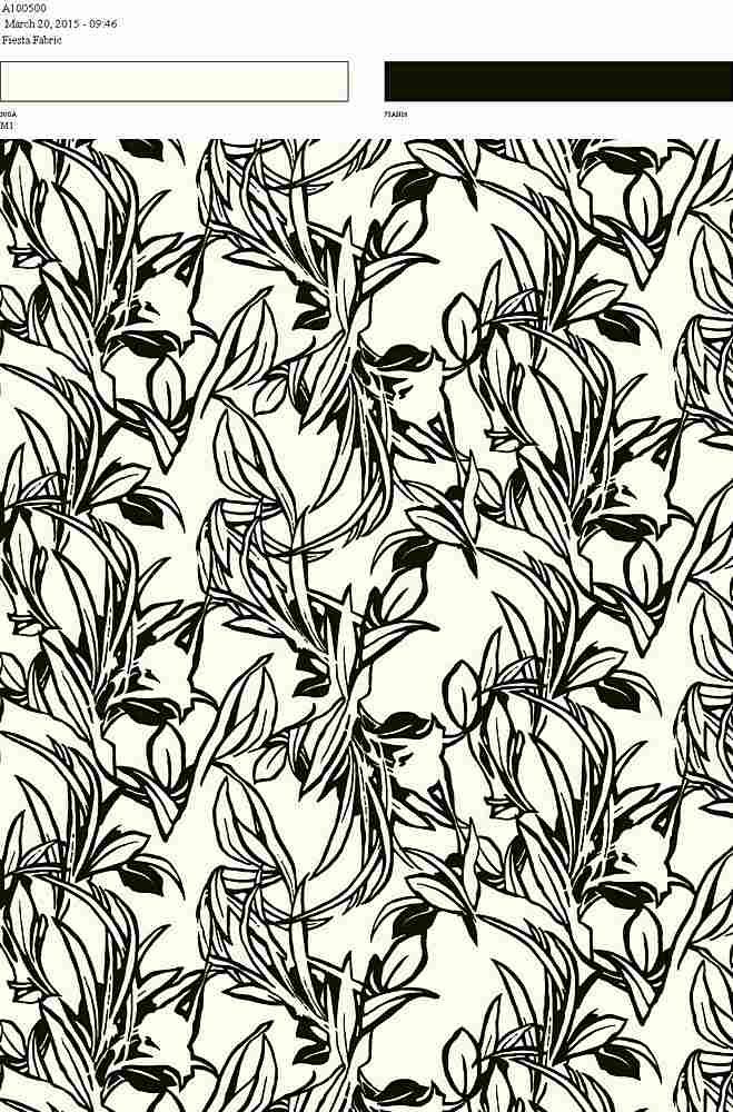206-A100500-30 / BLACK         / Rayon Spandex Jersey Print 180gsm