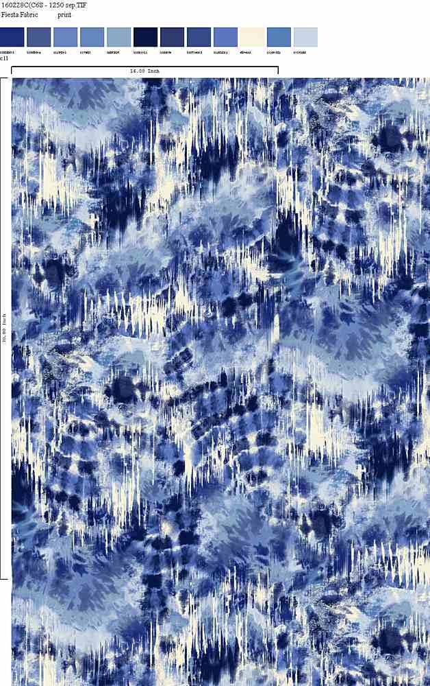 160228-35 / C11         / 100% Rayon Challis Print
