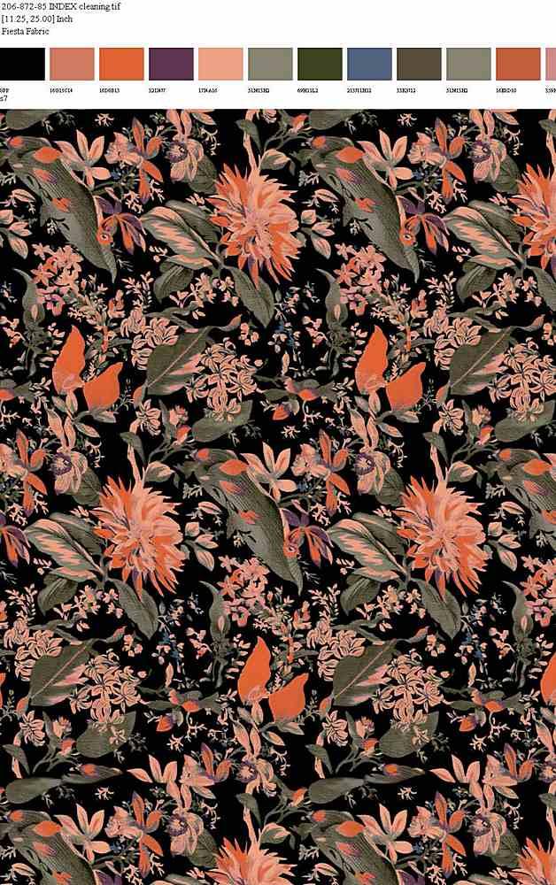 FIE-206-872-64 / S7         / 100% Rayon Gauze Print