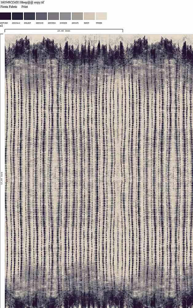160549-64 / C2 / 100% Rayon Gauze Print