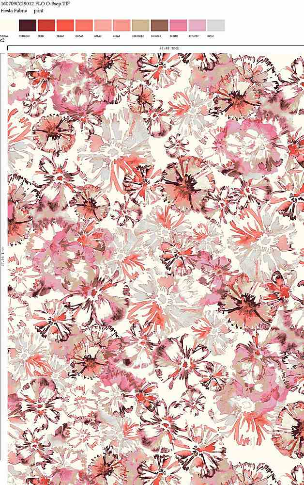 160709-30 / C2         / Rayon Spandex Jersey Print 180gsm