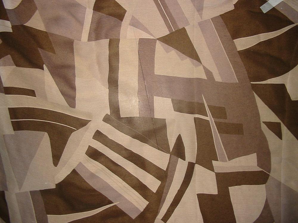 FIE-206-427 / #3 BLACK/WHITE / 100% Silk  Silk Chiffon Print 6 M/M