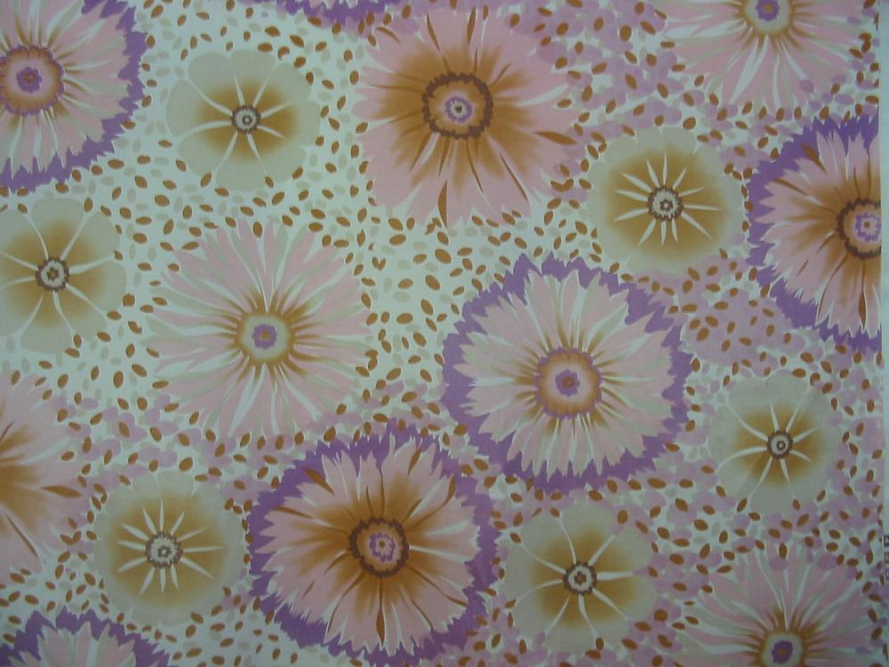#669 / #4 PINK                 / SILK/COTTON VOILE PRINT