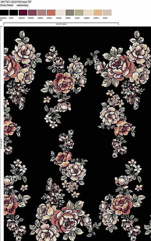 160770-30 / C1         / Rayon Spandex Jersey Print 180gsm