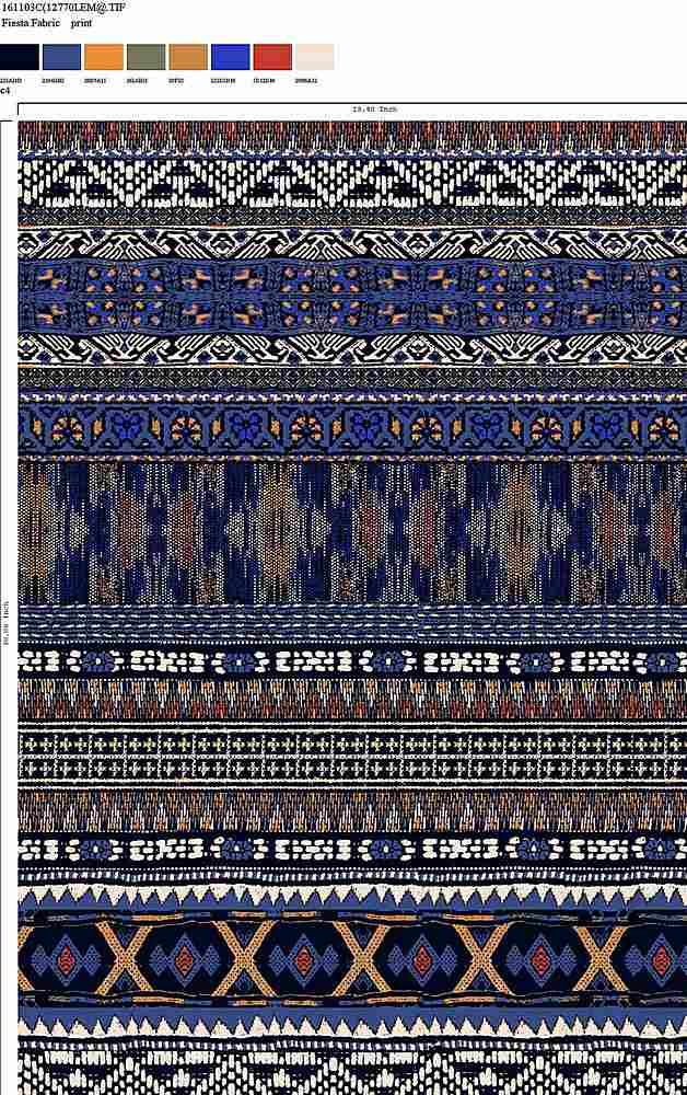 161103C-64 / C4         / RAYON GAUZE PRINT